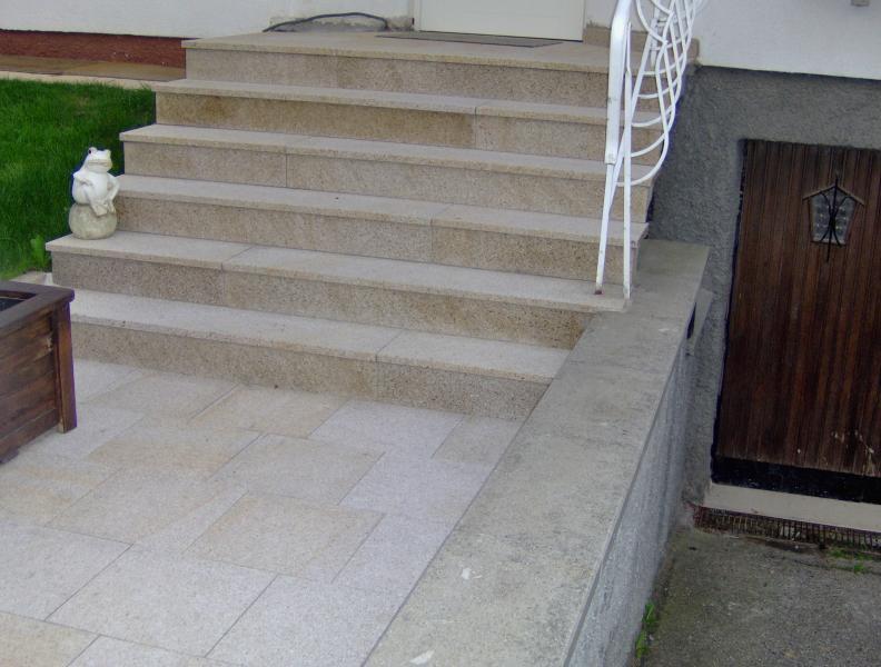 Escaliers ext rieur eberhart stone group for Escalier exterieur granit
