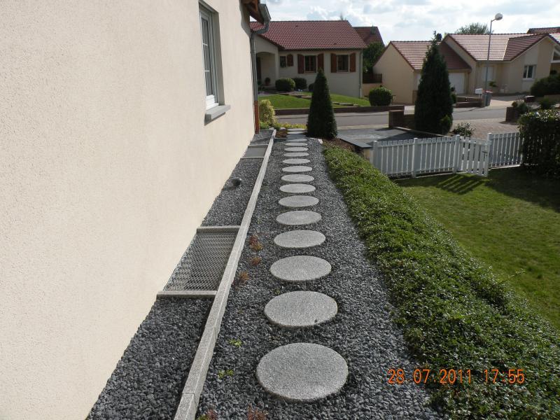 Pas japonais granit gris eberhart - Pas japonais pierre bleue ...
