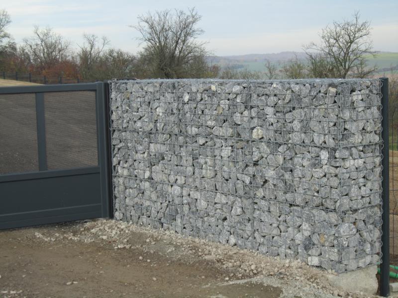 Gris des ardennes petits rochers pour gabions eberhart for Prix pierre pour gabion