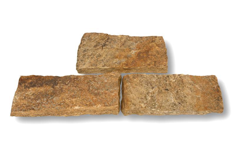 Plaquage Gneiss beige rives brutes H8/10