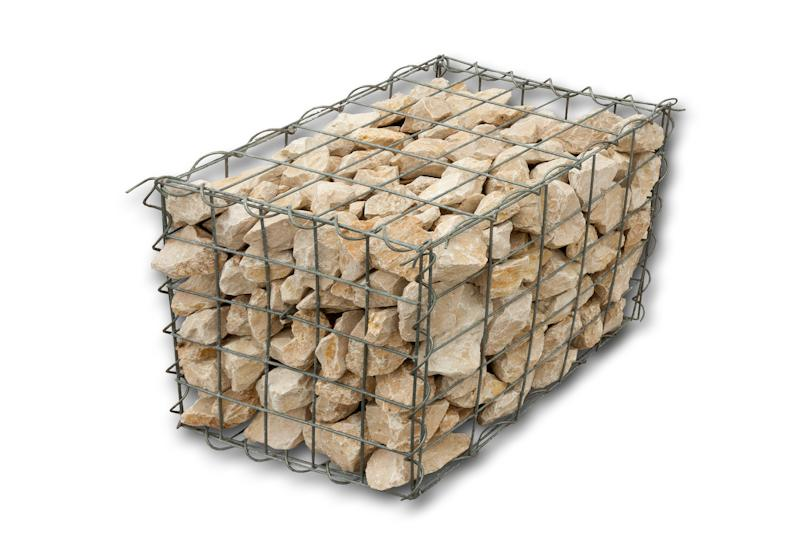gabion cage et pierre pour gabion min ral. Black Bedroom Furniture Sets. Home Design Ideas