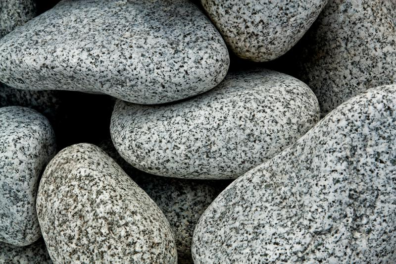 Roule Granit Gris Galets - Eberhart
